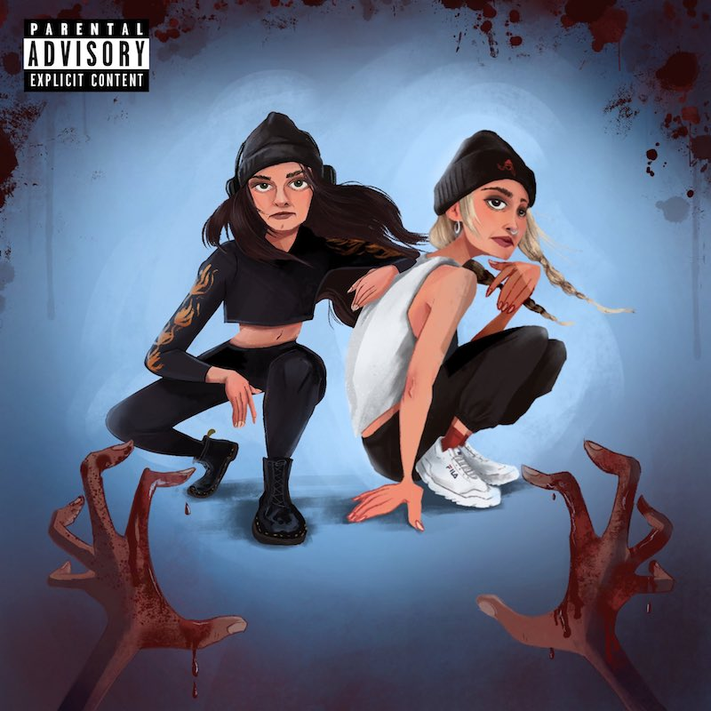 """Callie Reiff and Lenii - """"The Kids Are All Rebels 2.0"""" cover art"""