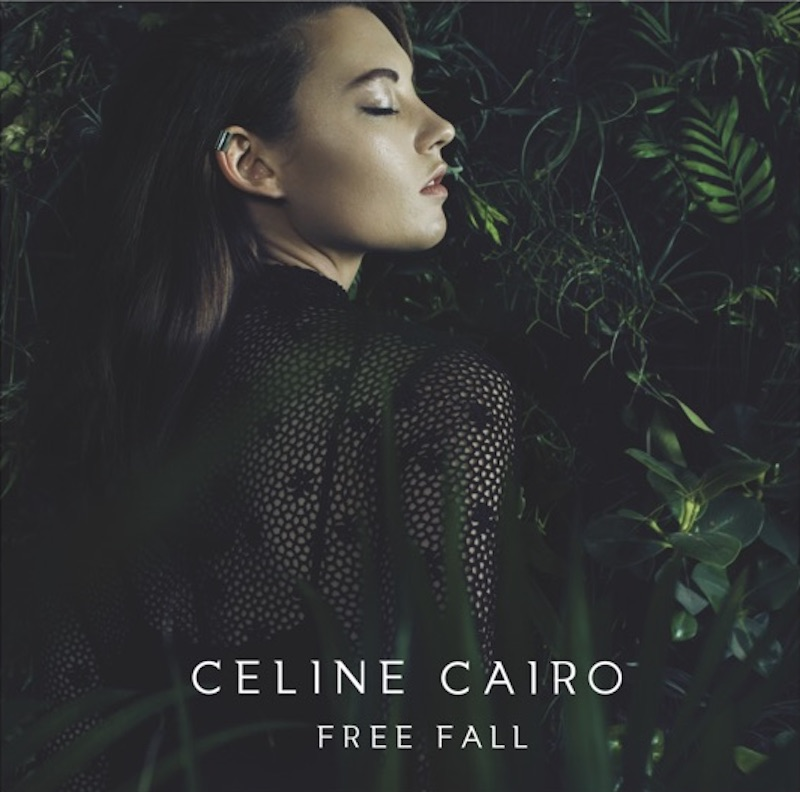 "Celine Cairo - ""Free Fall"" album cover"