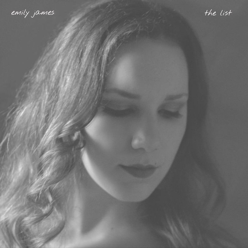 "Emily James – ""the list"" cover"