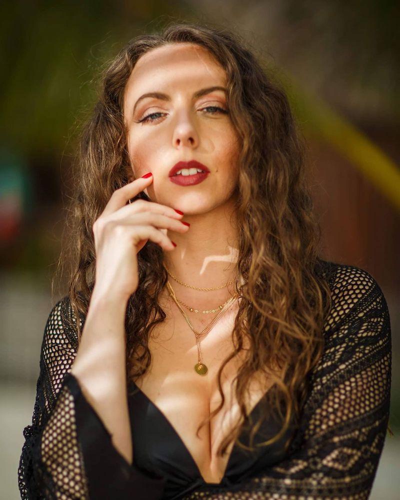 Flavia Abadía press photo by Juan Euan Photography