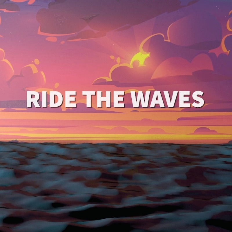 """Genra - """"Ride the Waves"""" cover"""