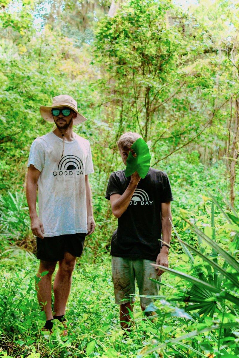 GoodDay jungle walk press photo