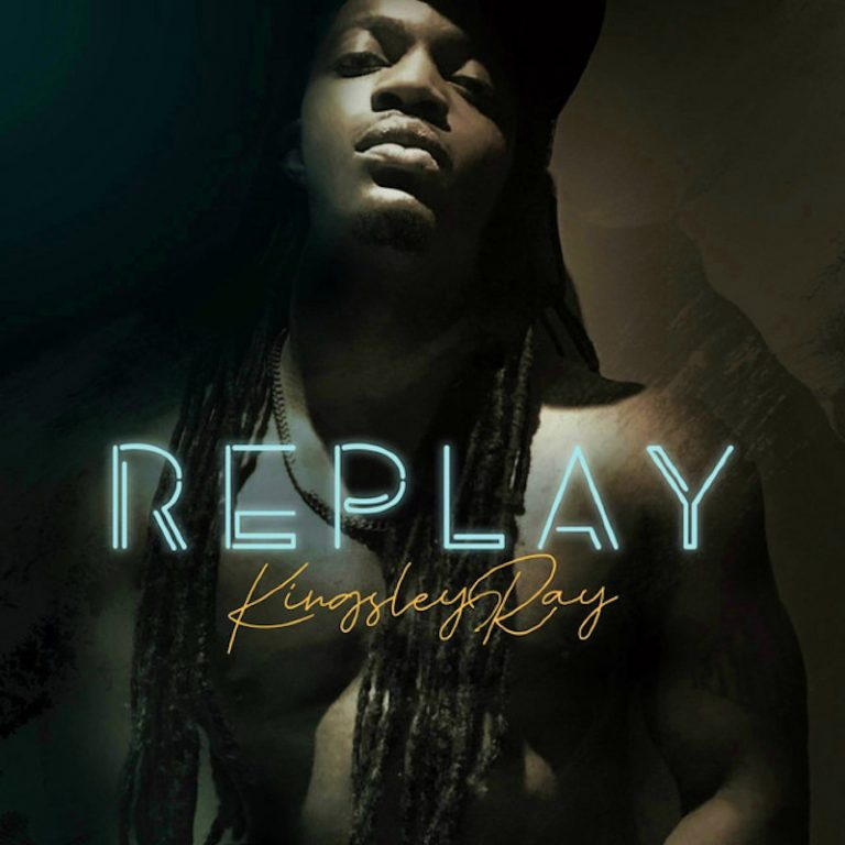 "Kingsley Ray - ""Replay""cover"