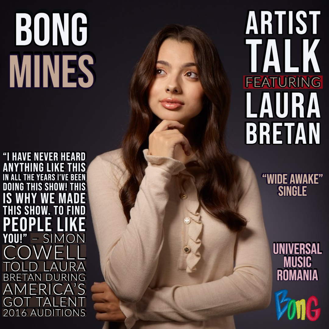 Laura Bretan's Artist Talk cover via Bong Mines Entertainment.