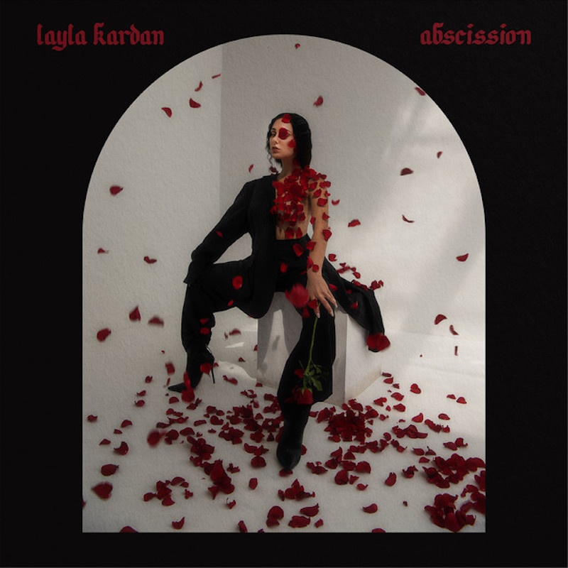 """Layla Kardan - """"abscission"""" cover"""