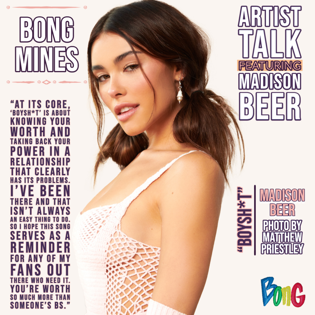 Madison Beer Bong Mines Entertainment Newsletter