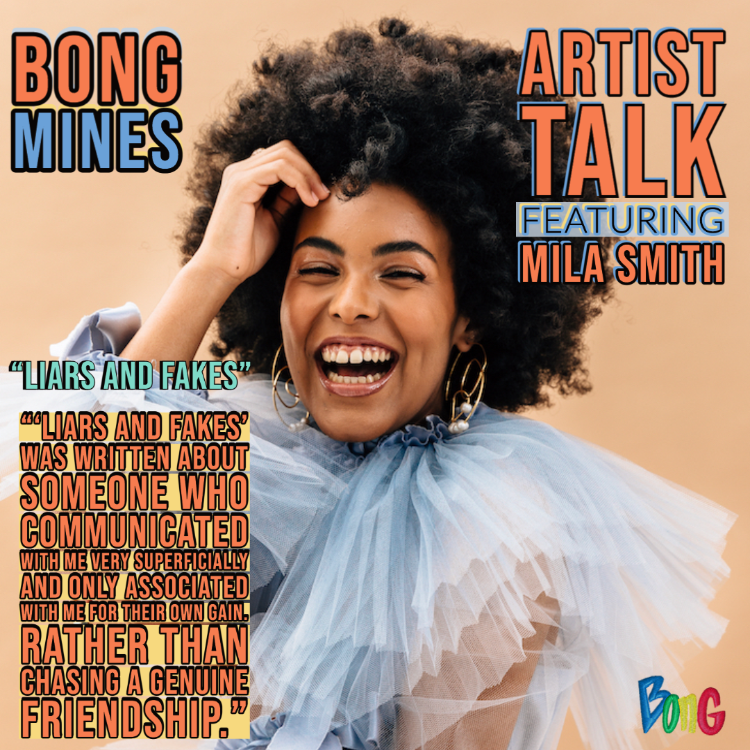 Mila Smith Bong Mines Artist Talk cover