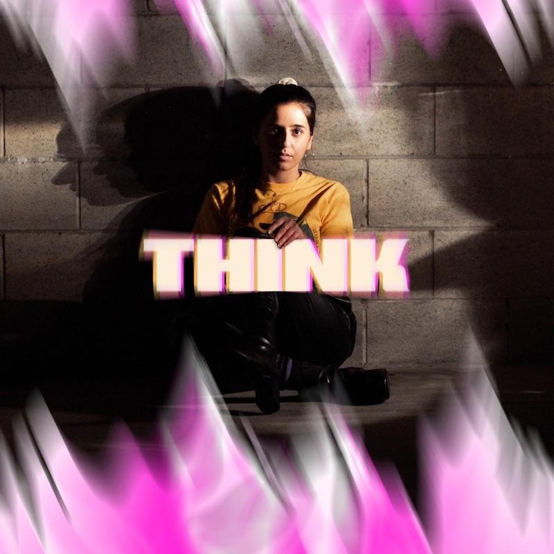 """Sophia Gripari - """"Think"""" cover"""