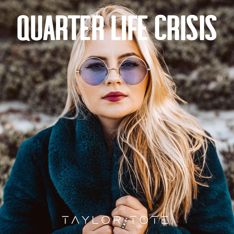 "Taylor Tote - ""Quarter-Life Crisis"" cover"