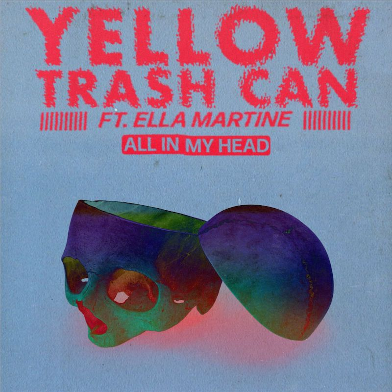 "Yellow Trash Can - ""All In My Head"" cover art"