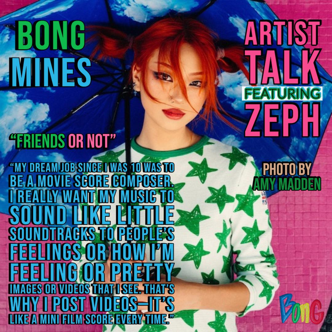 Zeph Bong Mines Entertainment cover