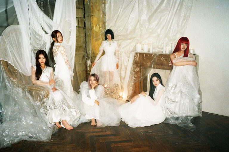 (G)I-DLE - I burn press photo by Cube Entertainment