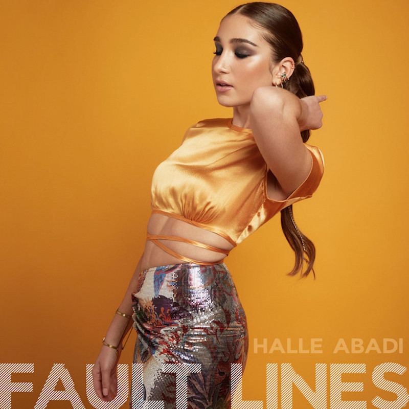 "Halle Abadi - ""Fault Lines"" cover"