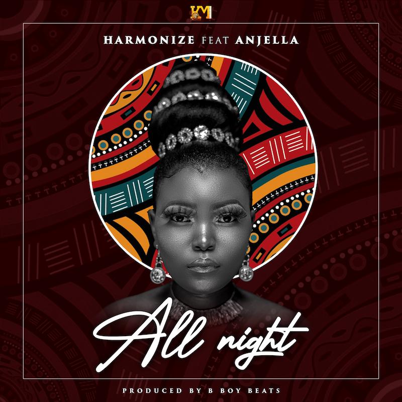Harmonize ft Anjella- All Night cover