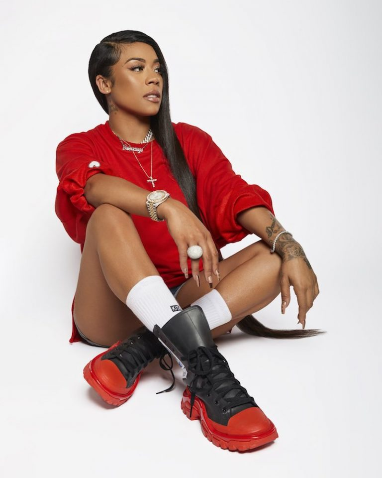"Keyshia Cole - ""I Don't Wanna Be In Love"" press photo"