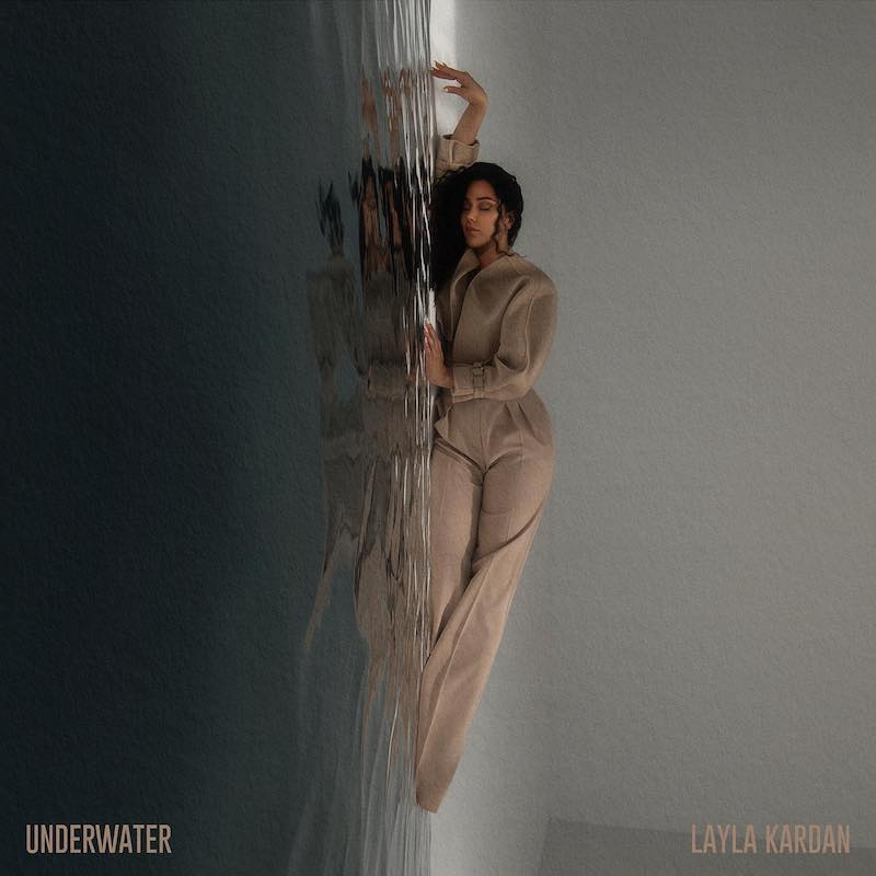 "Layla Kardan - ""Underwater"" cover artwork by @mad__juice - Photo by @abdullaelmaz"