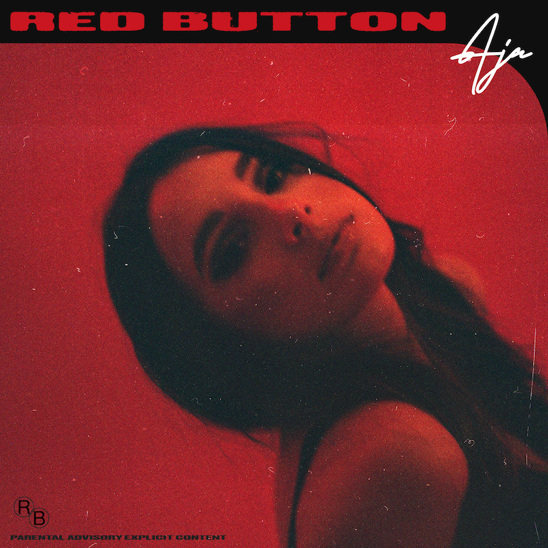 """AJA's """"Red Button"""" cover art."""