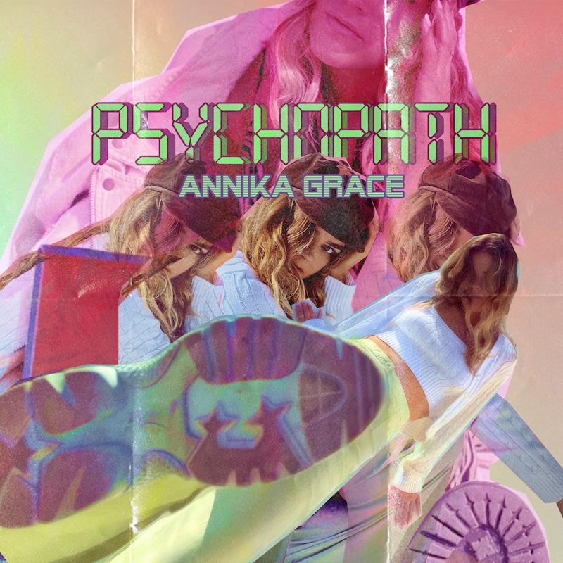 "Annika Grace's ""Psychopath"" song cover art."