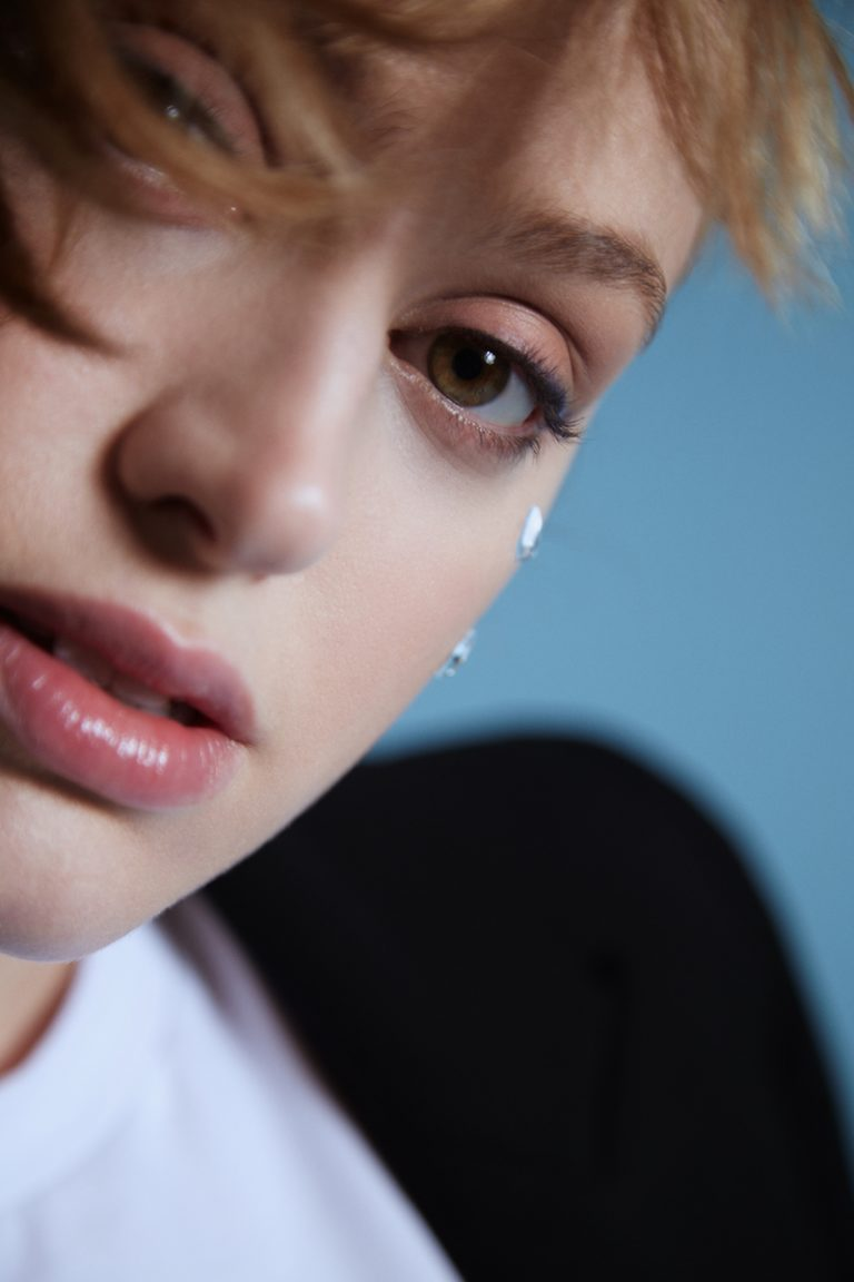 Betta Lemme - Cry press photo (close up shot).