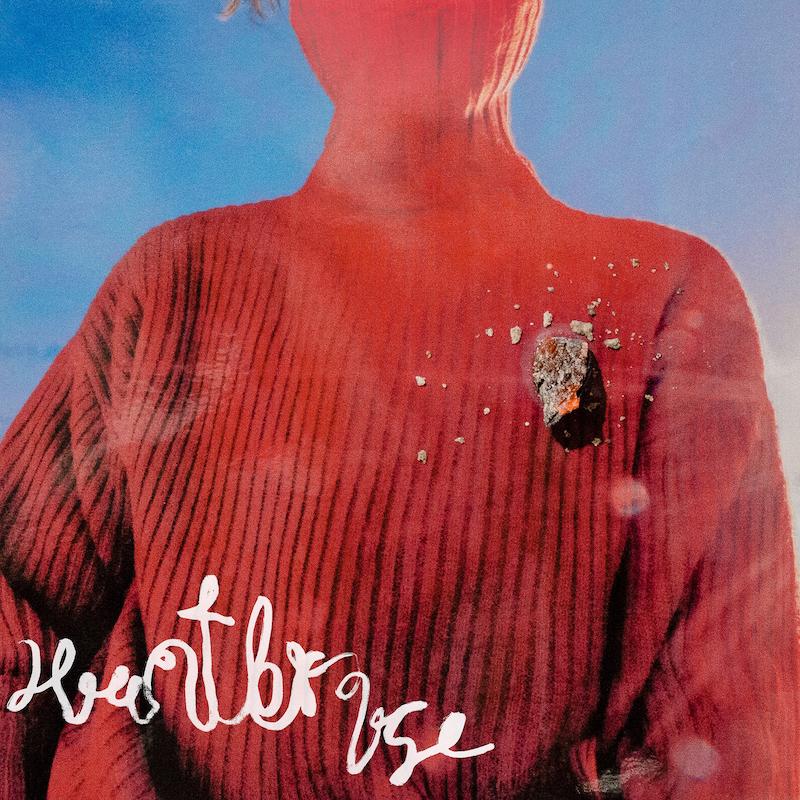 "Clubhouse's ""Heartbroke"" single cover art."