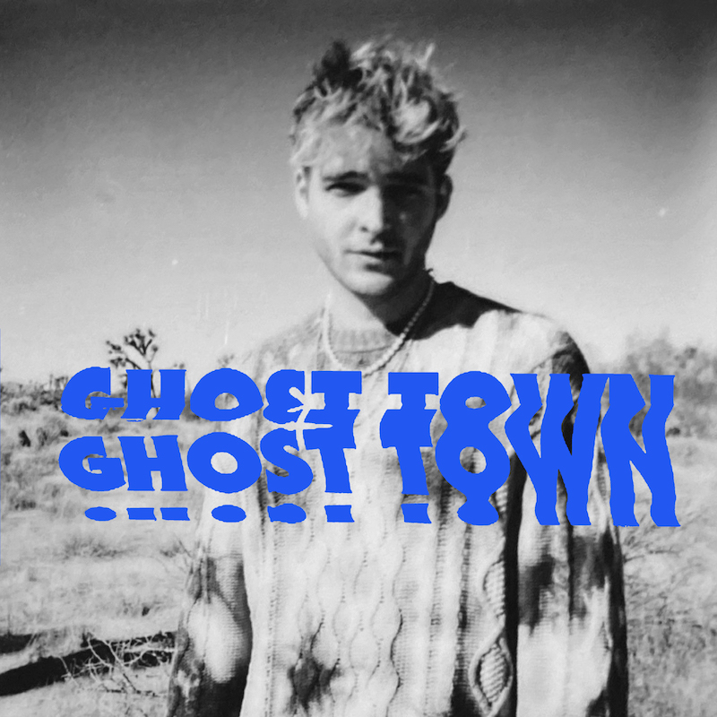 """Arte de la portada de """"Ghost Town"""" de EBEN."""