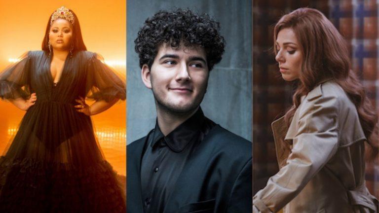 Eurovision 2021 artists representing Switzerland, Malta, and Bulgaria.