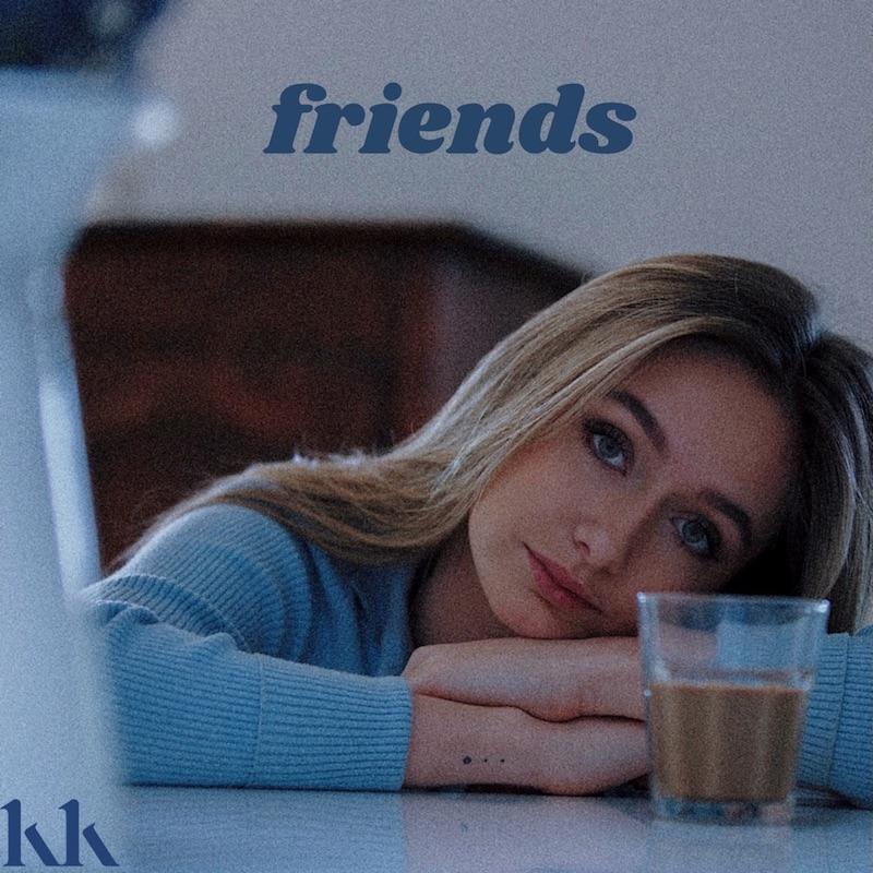 "Katie Kittermaster - ""Friends"" song cover art"