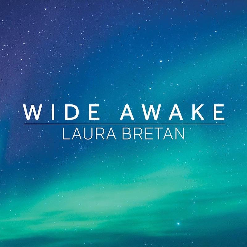 "Laura Bretan's ""Wide Awake"" cover art."