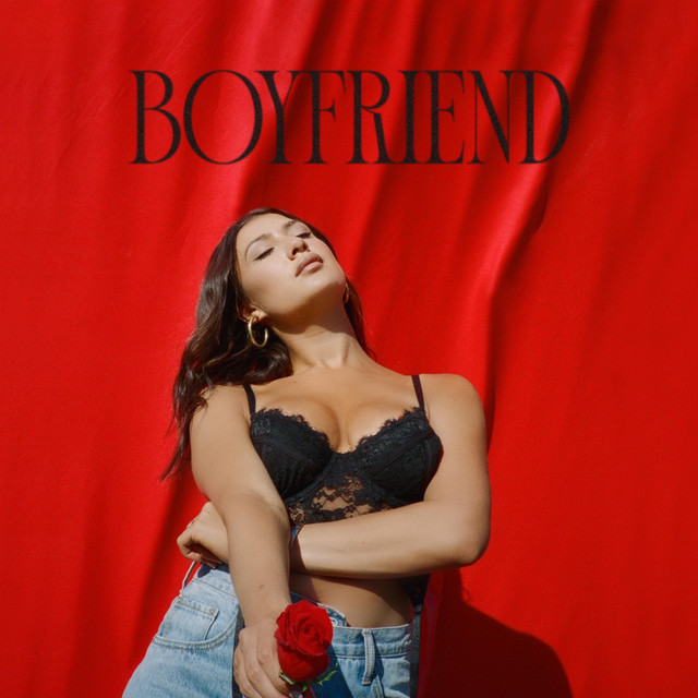 "Leah Kate's ""Boyfriend"" song cover art."