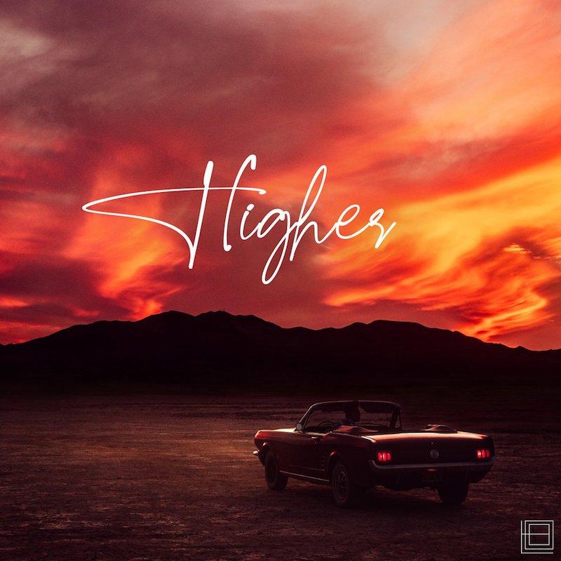 "Liam O'Brien's ""Higher"" EP cover art."