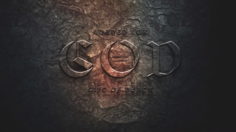 """Loaded Lux's """"Gift of Death (G.O.D.)"""" cover art."""