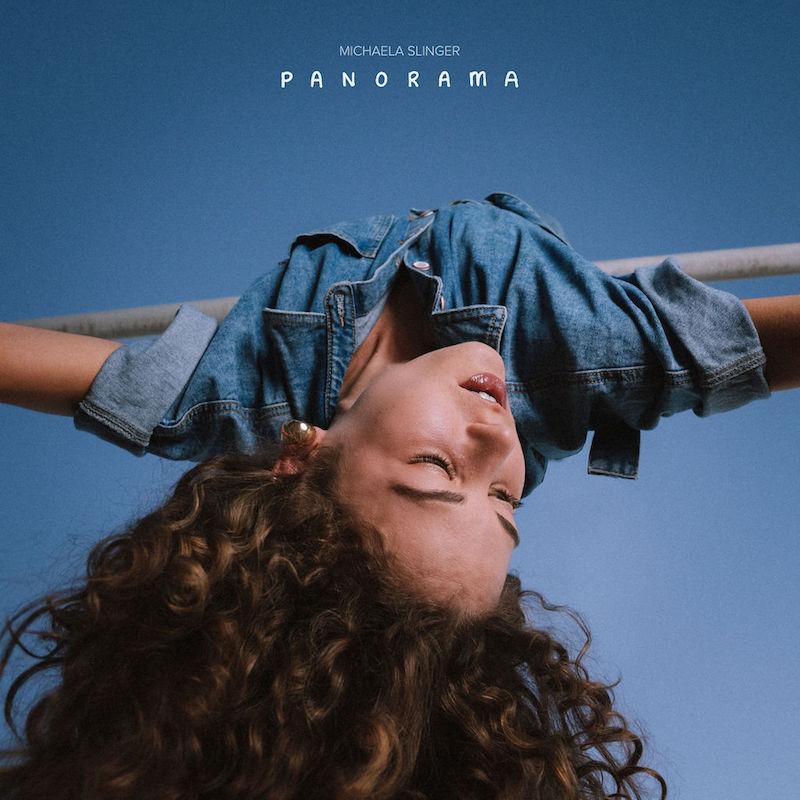 """Michaela Slinger's """"Panorama"""" album cover art."""