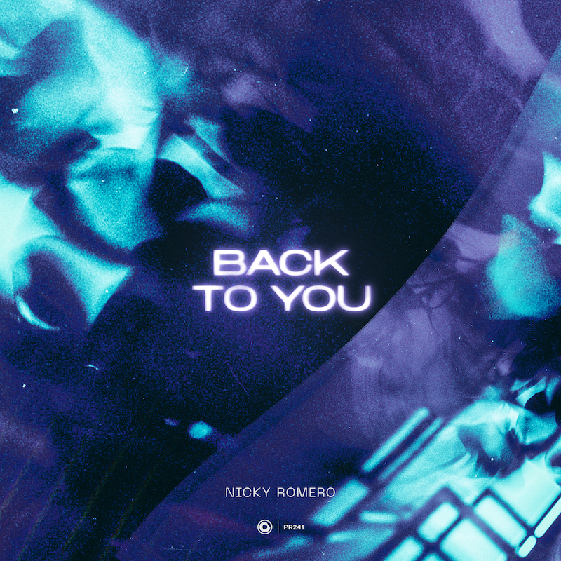 """Nicky Romero's """"Back to You"""" single cover art."""