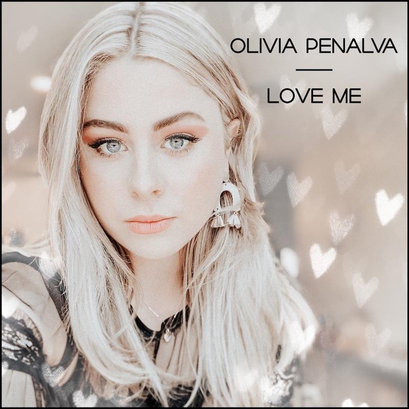 "Olivia Penalva's ""Love Me"" song cover art."