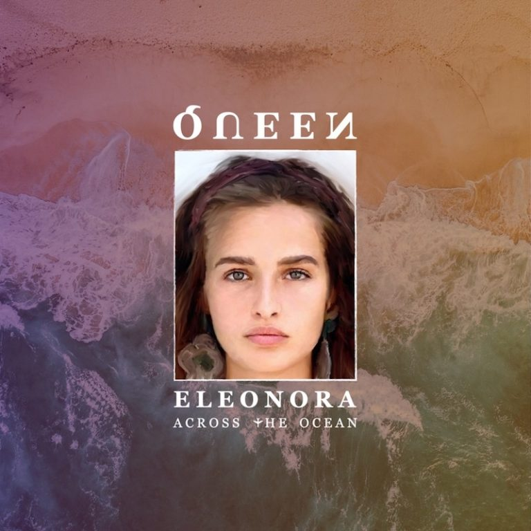 """Queen Eleonora's """"Across the Ocean"""" song cover art."""