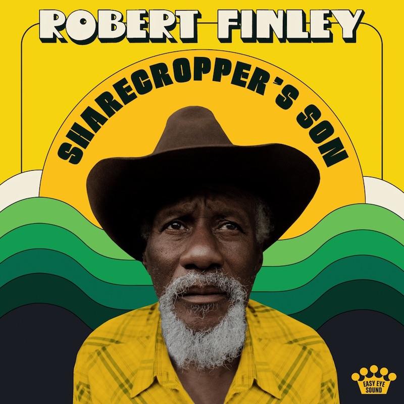 "Robert Finley's ""Sharecropper's Son"" album cover art."