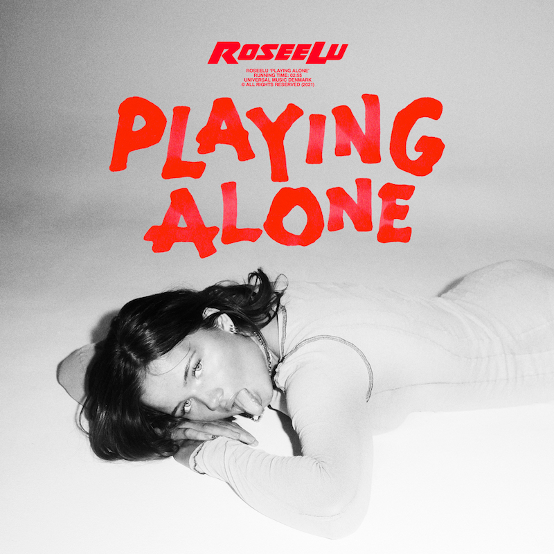 "RoseeLu - ""Playing Alone"" song cover art"