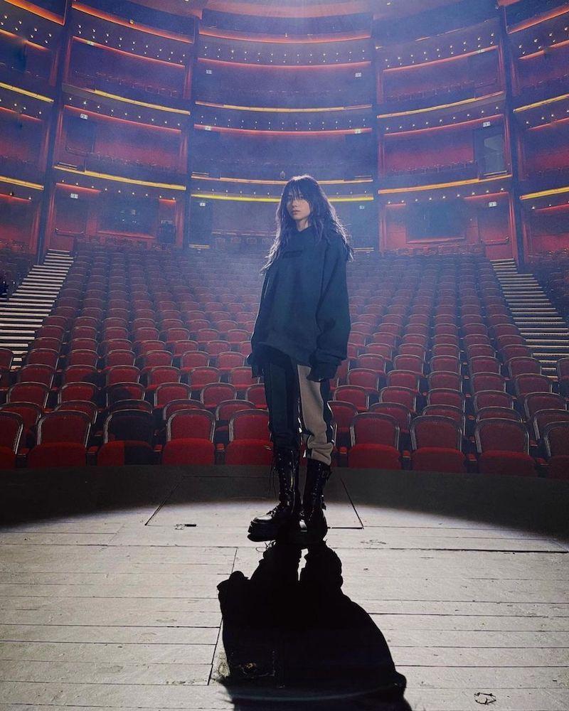 "Roxen's ""Amnesia"" music video photo."