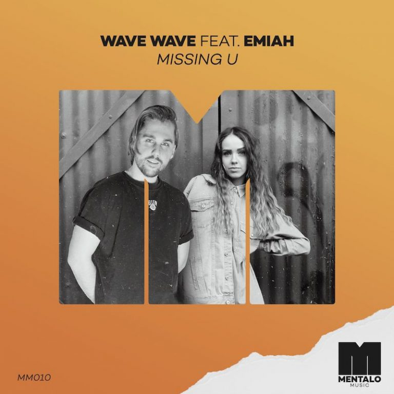 "Wave Wave's ""Missing U"" cover art featuring EMIAH."