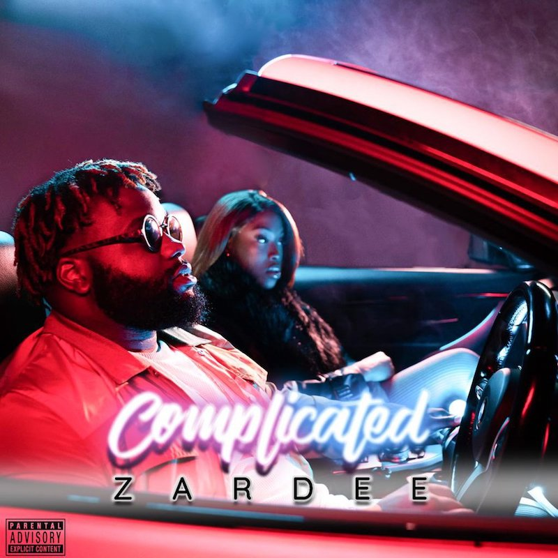 "Zardee's ""Complicated"" song cover art."