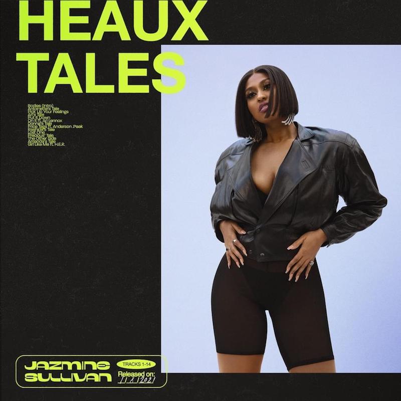 """jazmine sullivan's """"Heaux Tales"""" album cover art."""