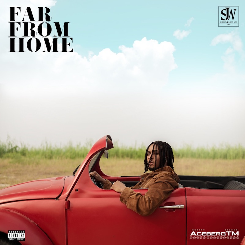 """AcebergTM - """"Far from Home"""" EP cover art"""