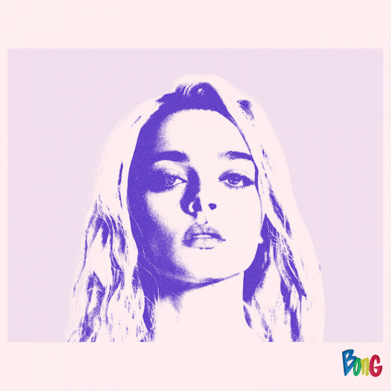 """Charlotte Lawrence - """"Charlotte (Acoustic)"""" EP cover art edited by Bong Mines Entertainment (purple and pink tone)"""