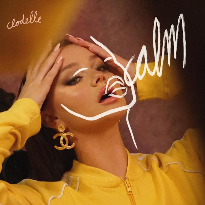 "Clodelle - ""Calm"" song cover art"