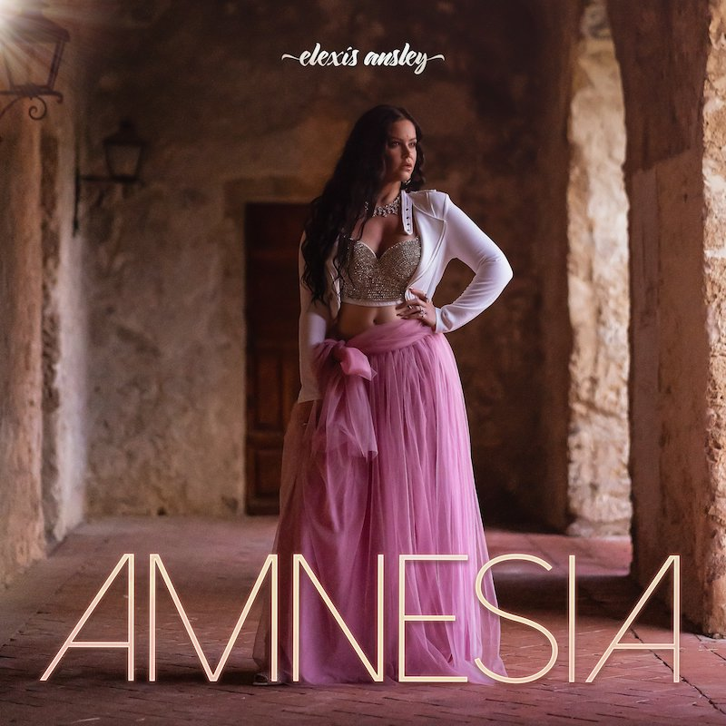 "Elexis Ansley - ""Amnesia"" song cover art"