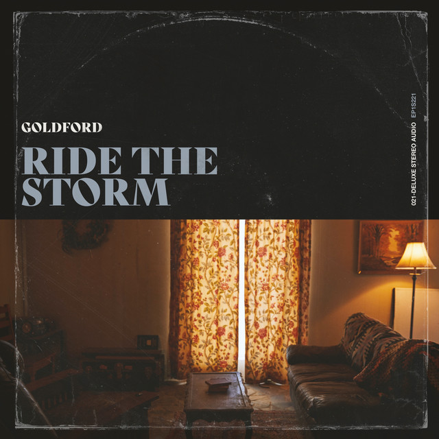 """GoldFord - """"Ride the Storm"""" song cover art"""