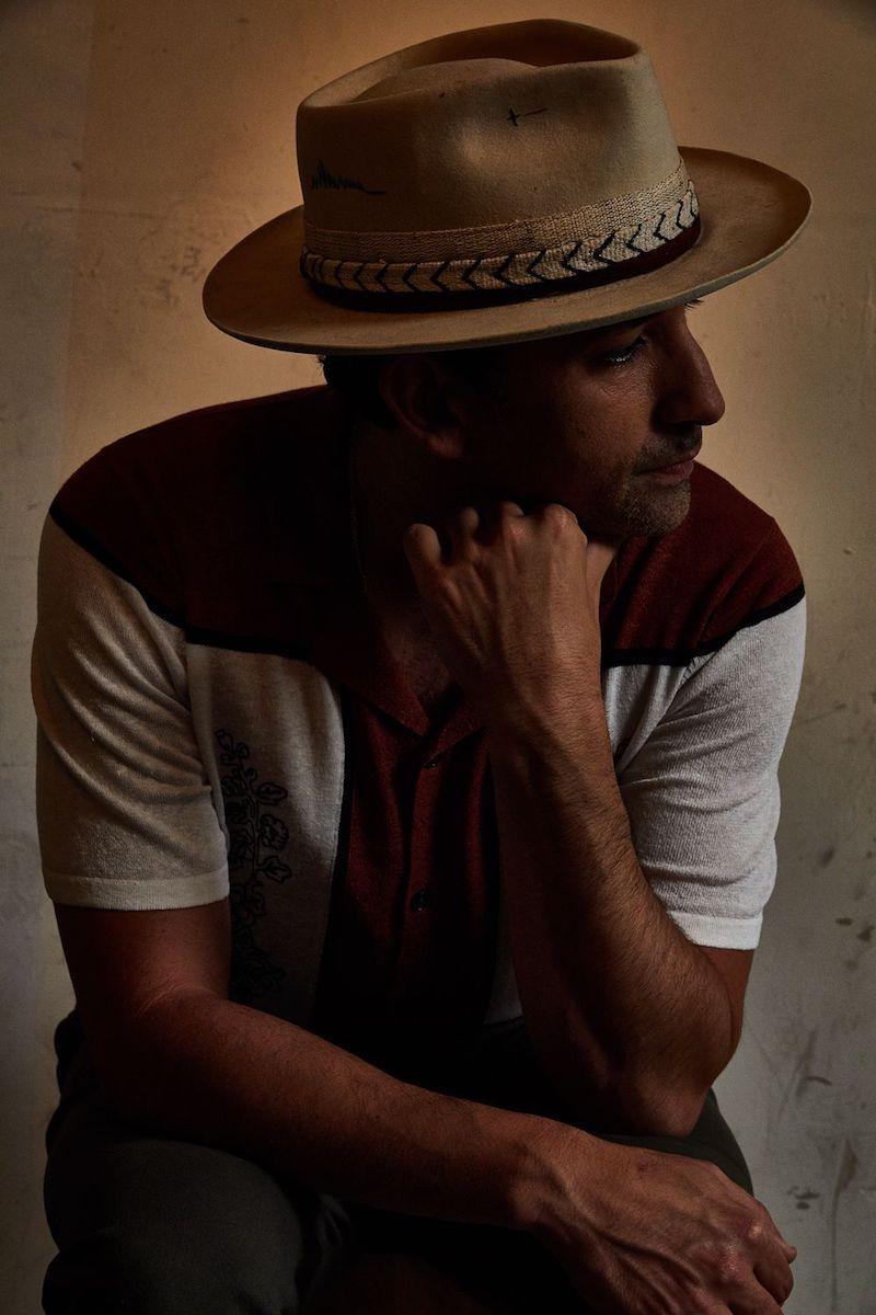 GoldFord press photo wearing a hat