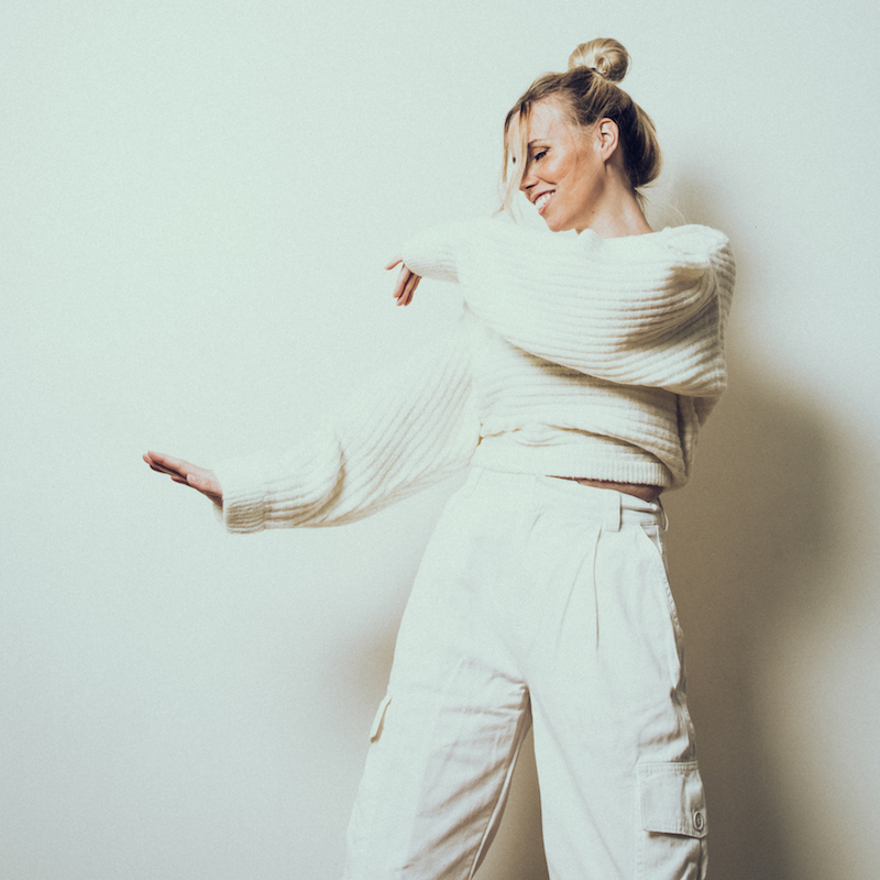 "ILY - ""Doing It Better"" EP press photo with a beige color tone theme"