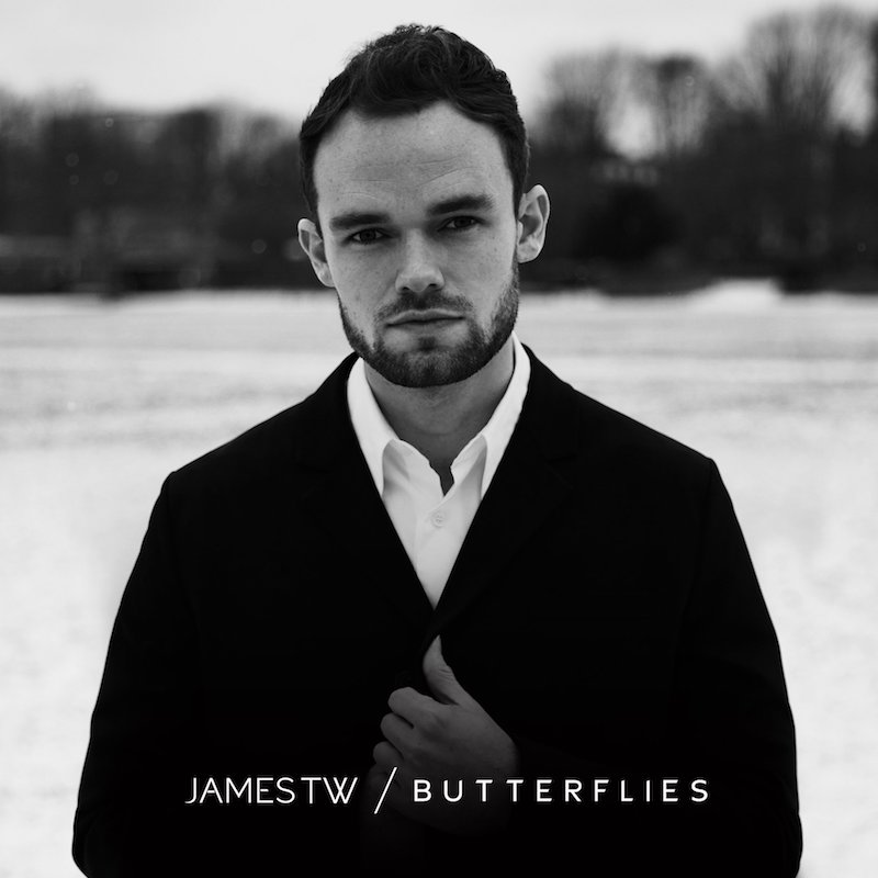 "James TW - ""Butterflies"" song cover art"