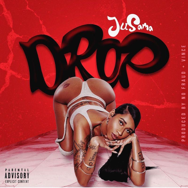 "Ju Sama - ""DROP"" song cover art"